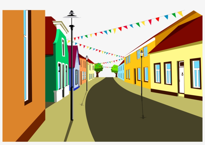 A city street with buildings background cartoon clipart stock Фотки City Buildings, Cartoon City, Stickers, Backgrounds - City ... stock