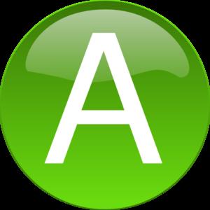 A clipart clipart download Green A Clip Art at Clker.com - vector clip art online, royalty ... clipart download
