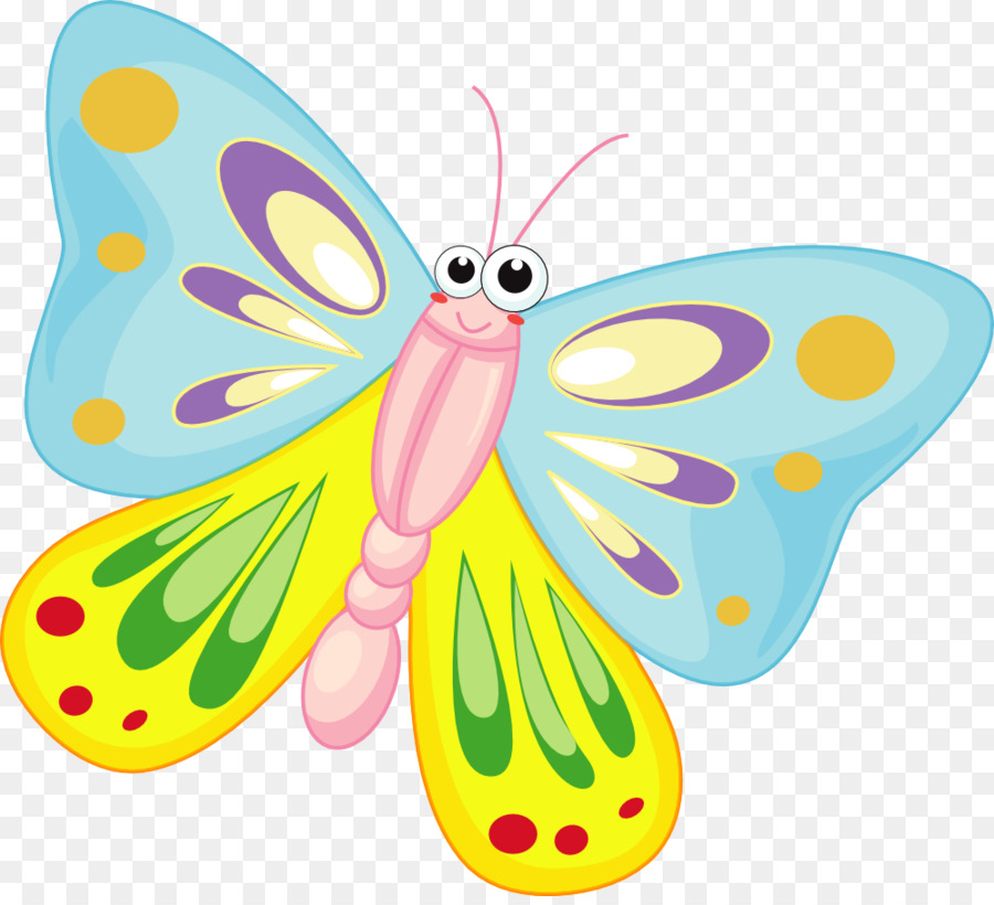 A clipart butterfly png library library Monarch Butterfly Drawing clipart - Butterfly, Illustration, Cartoon ... png library library