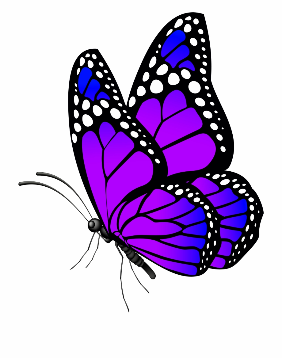A clipart butterfly freeuse Butterfly Purple Png Clip Art Imageu200b Gallery Yopriceville Free ... freeuse