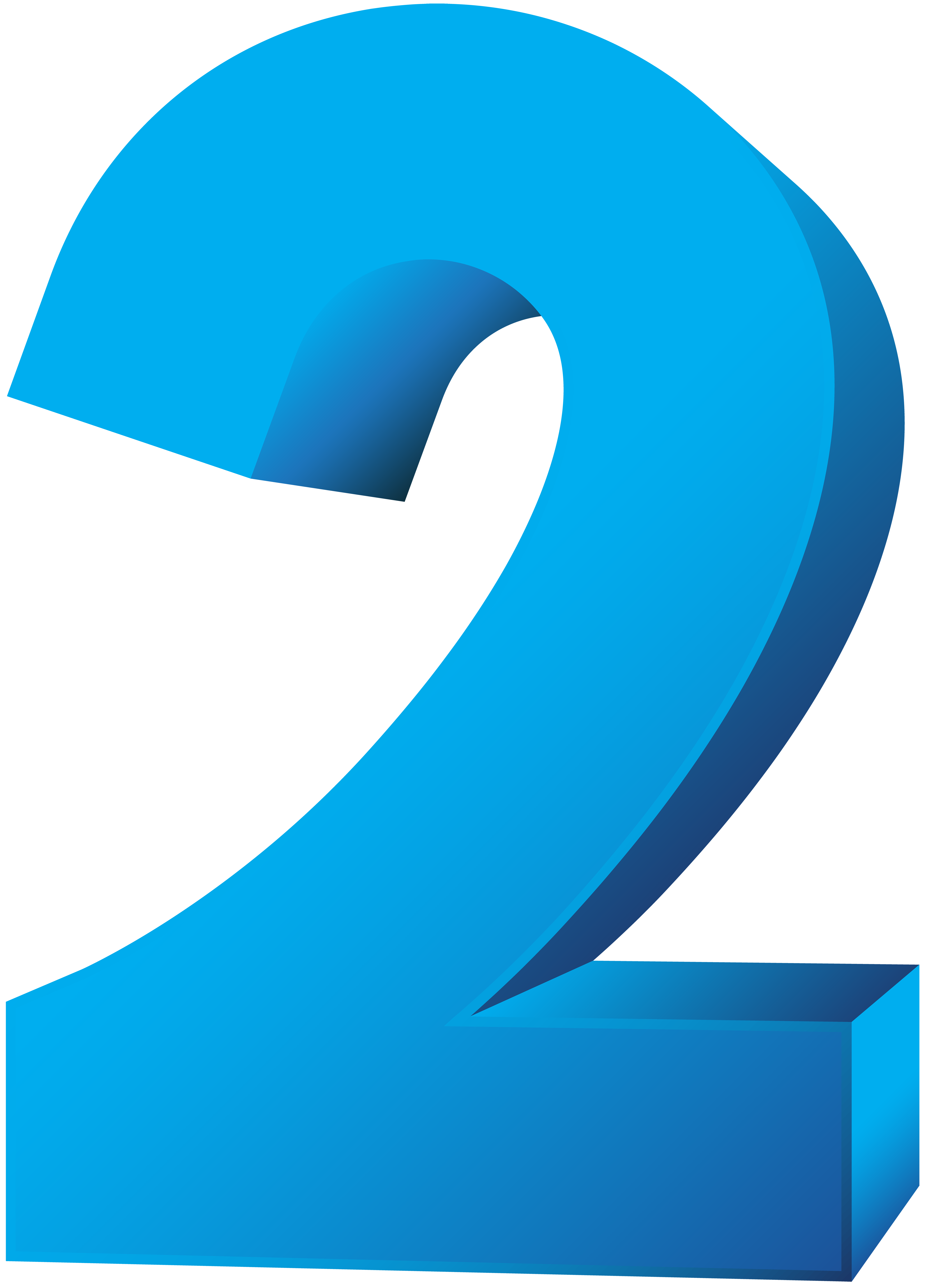 Number two clipart picture royalty free download Blue Number Two Transparent PNG Clip Art Image | Gallery ... picture royalty free download
