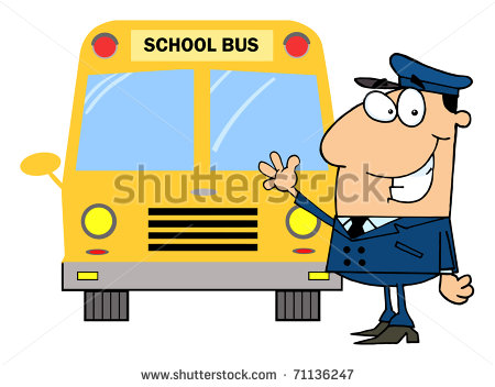 A clipart of a brown man waving from a schoolbus clip royalty free stock A clipart of a brown man waving from a school bus - ClipartFest clip royalty free stock