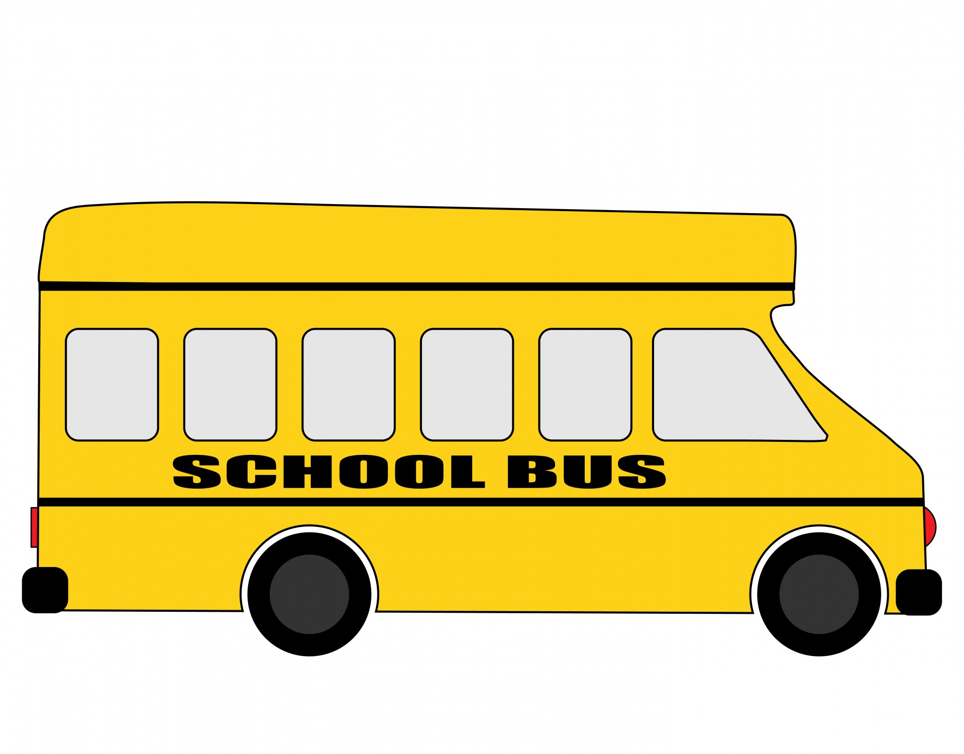 A clipart of a brown man waving from a schoolbus graphic library library A clipart of a brown man waving from a school bus to his daughter ... graphic library library