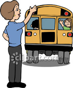 A clipart of a brown man waving from a schoolbus clipart royalty free library A clipart of a brown man waving from a school bus - ClipartFox clipart royalty free library