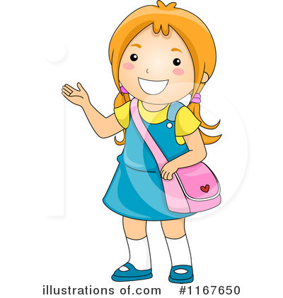 A girl clip art - ClipartFest vector royalty free