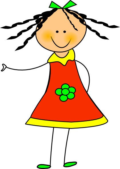 A clipart of a girl svg free library Clip art of a girl | Clipart Panda - Free Clipart Images svg free library
