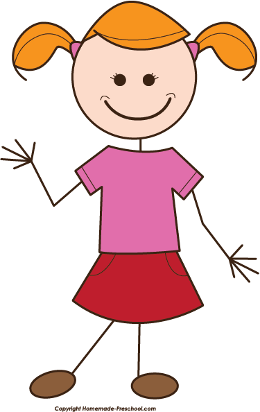 A clipart of a girl png black and white library Clipart Of A Girl & Of A Girl Clip Art Images - ClipartALL.com png black and white library