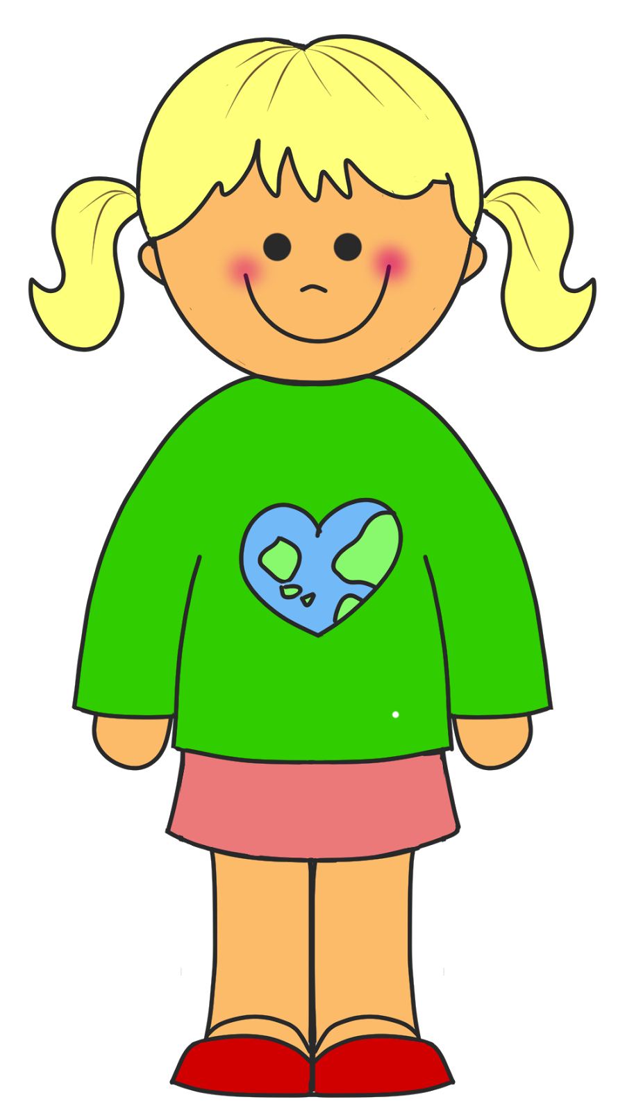 A clipart of a girl graphic transparent stock Clipart Of A Girl & Of A Girl Clip Art Images - ClipartALL.com graphic transparent stock