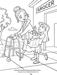 A clipart of a girl being helpful vector black and white library A girl being helpful to others clipart - ClipartFox vector black and white library