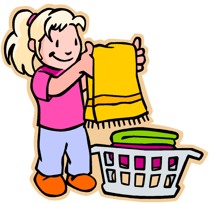 A clipart of a girl being helpful svg royalty free stock Kids being helpful clipart - ClipartFest svg royalty free stock