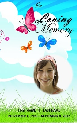 A clipart of a girl in a funeral clip transparent 17 Best images about Printable Funeral Program Templates on ... clip transparent