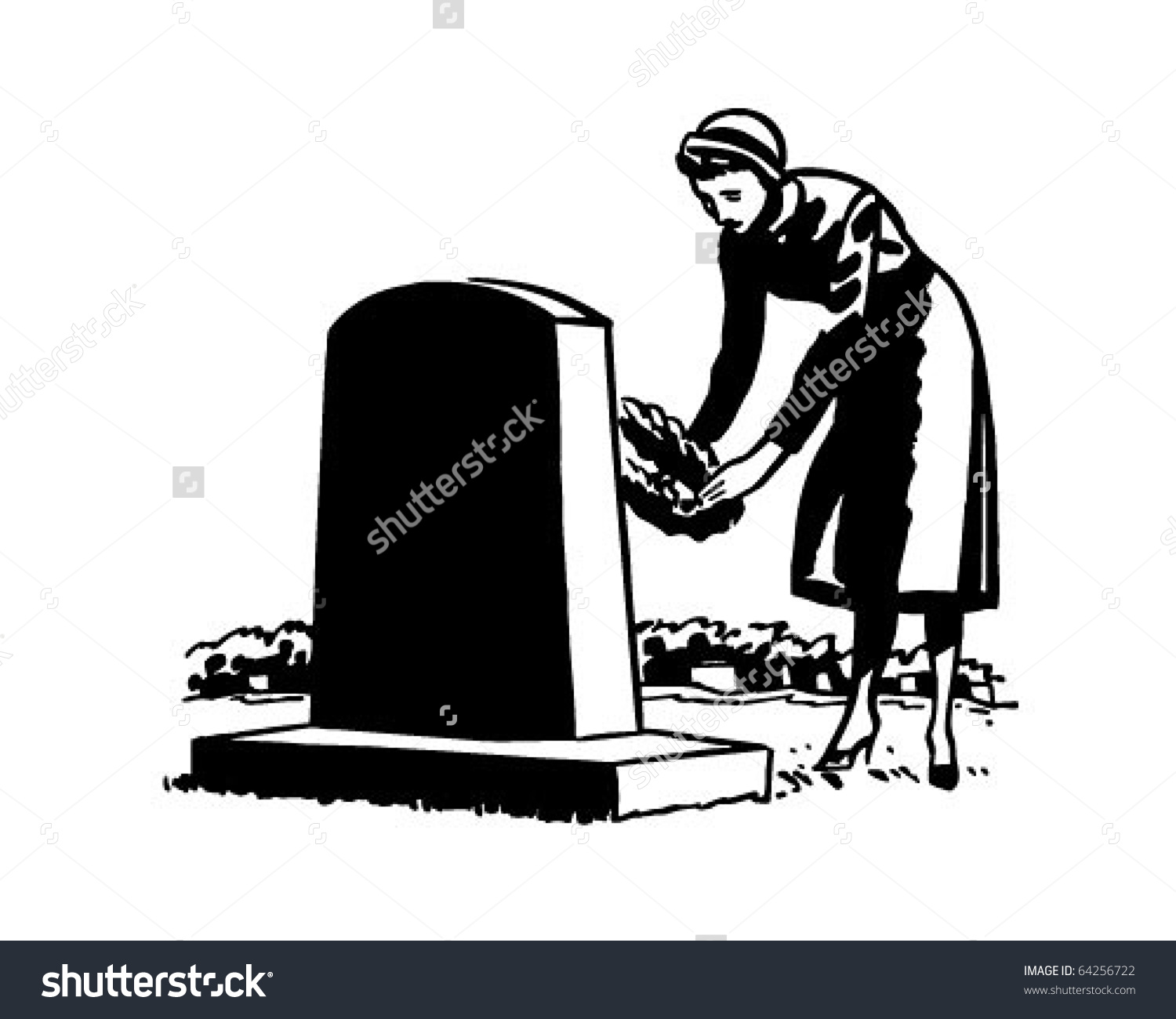 A clipart of a girl in a funeral graphic royalty free stock Casket clipart woman - ClipartFest graphic royalty free stock