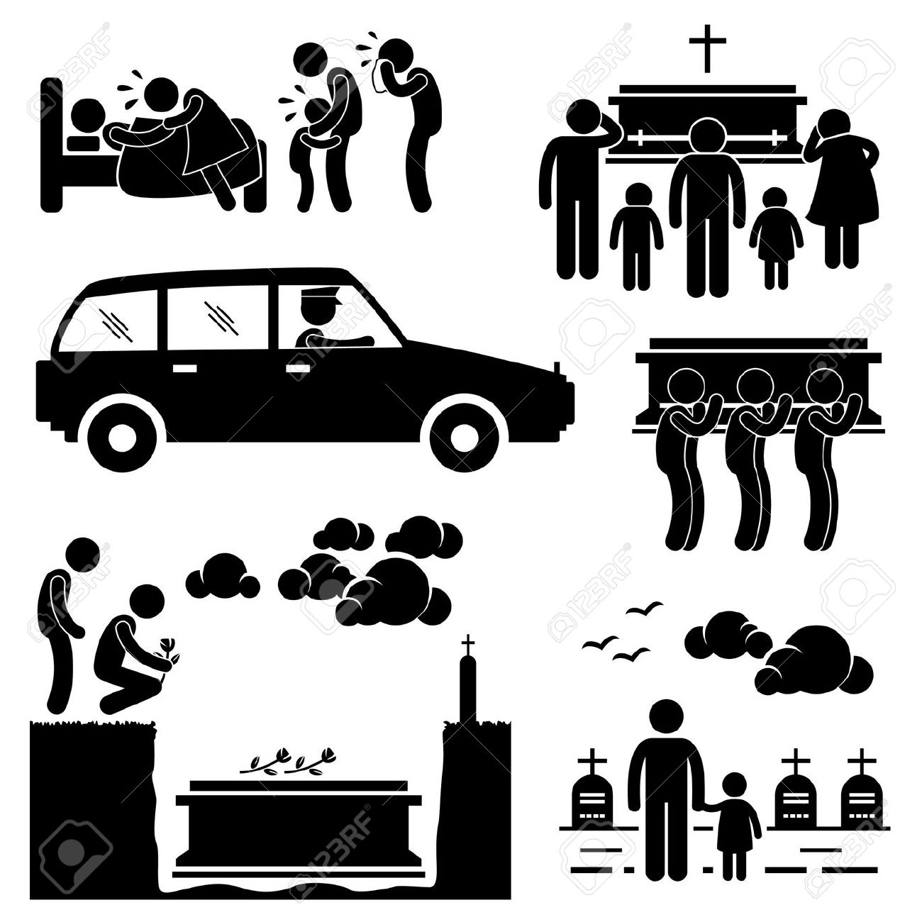 A clipart of a girl in a funeral jpg A clipart of a girl in a funeral - ClipartFest jpg