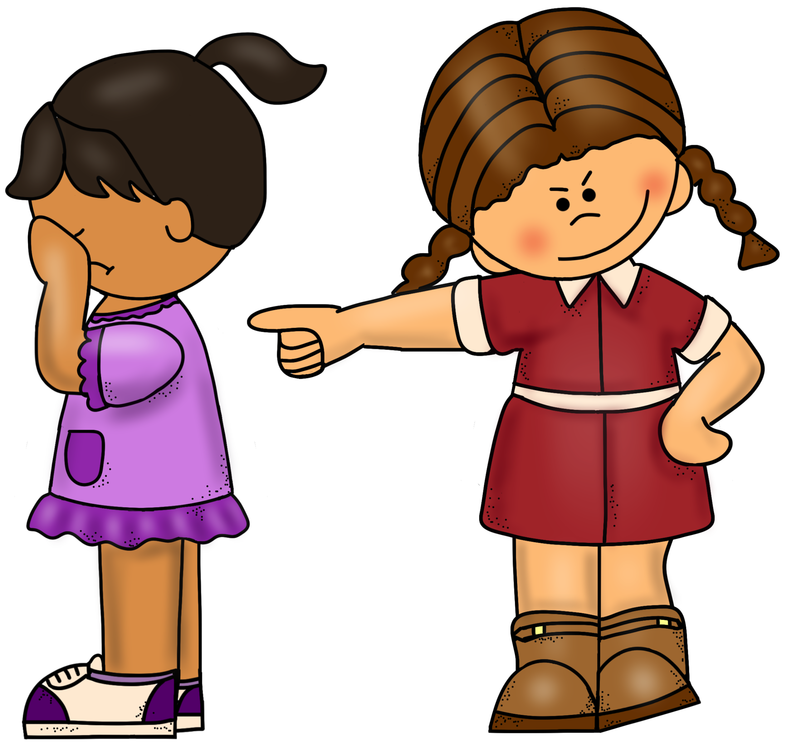 Do you love a bully girl clipart - ClipartFest svg freeuse