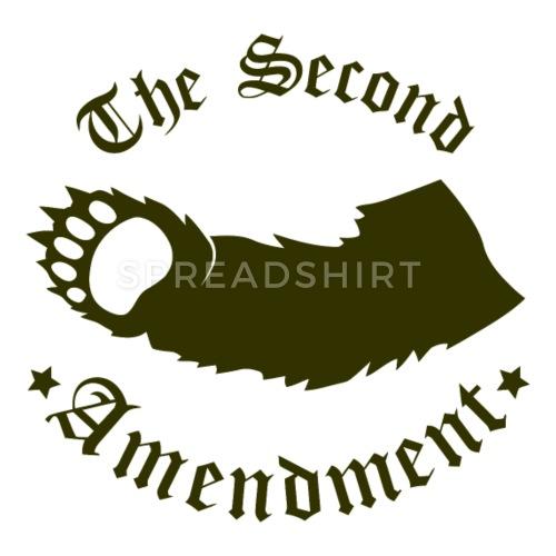 The Second Amendment Pillowcase - white clipart library stock
