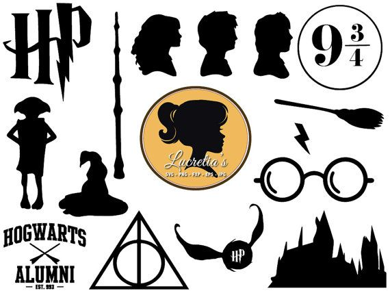 Clipart to svg clip art library stock Harry Potter SVG, Harry Potter dxf, harry potter clipart, SVG files ... clip art library stock
