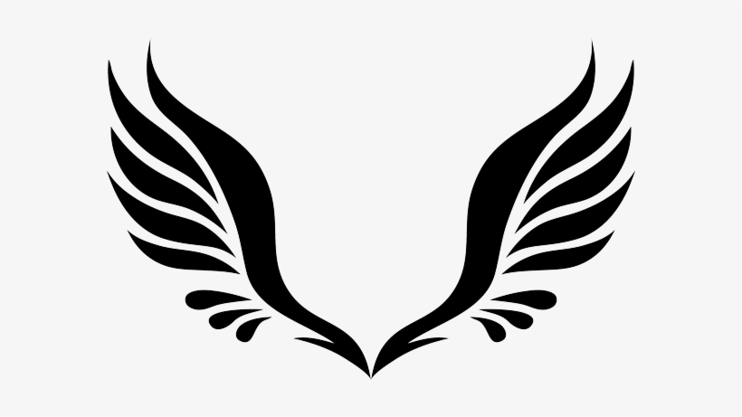 Black and white clipart tattoo clip royalty free download Angel Wings Png Clipart Svg Black And White Library - Tattoos ... clip royalty free download