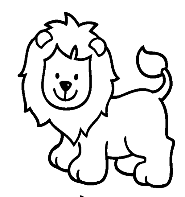 Animal Clipart To Color | Free download best Animal Clipart To Color ... image download