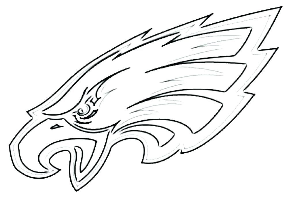 A clipart to color eaglels banner royalty free coloring pages of eagles eagles logo coloring page eagles coloring ... banner royalty free
