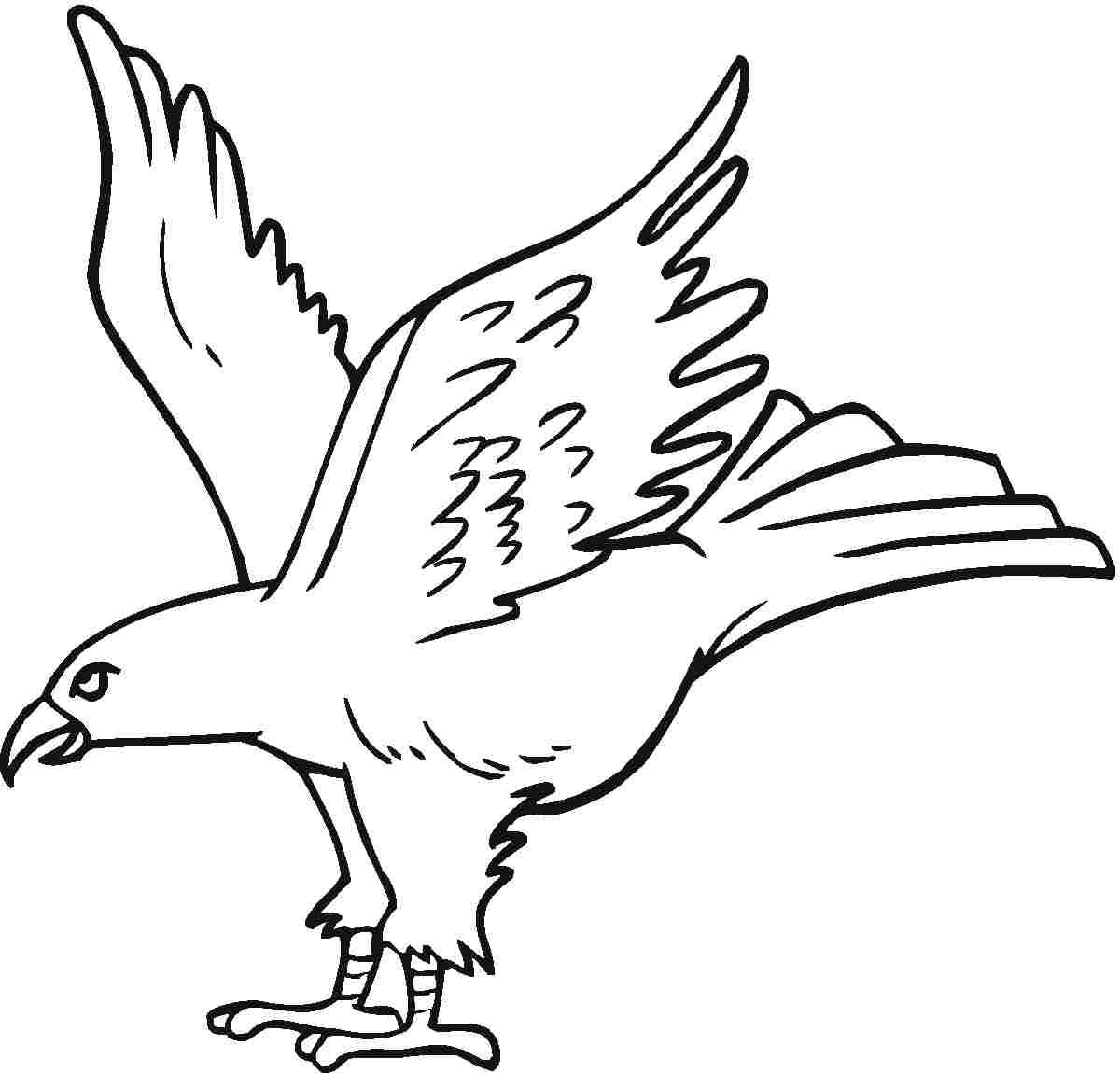 A clipart to color eaglels clipart freeuse Free Printable Eagle Coloring Pages For Kids | coloring animals ... clipart freeuse