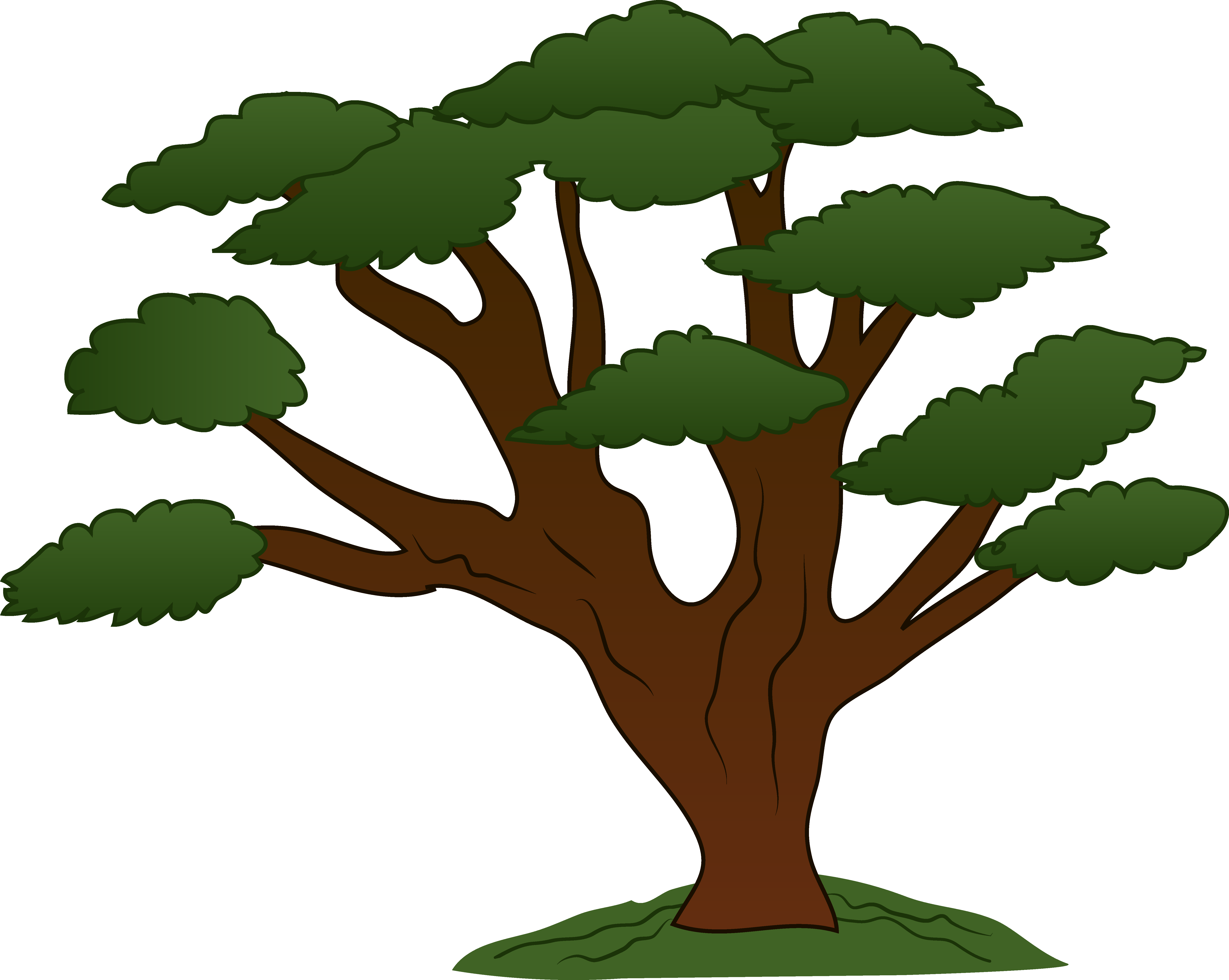 Clipart of tree