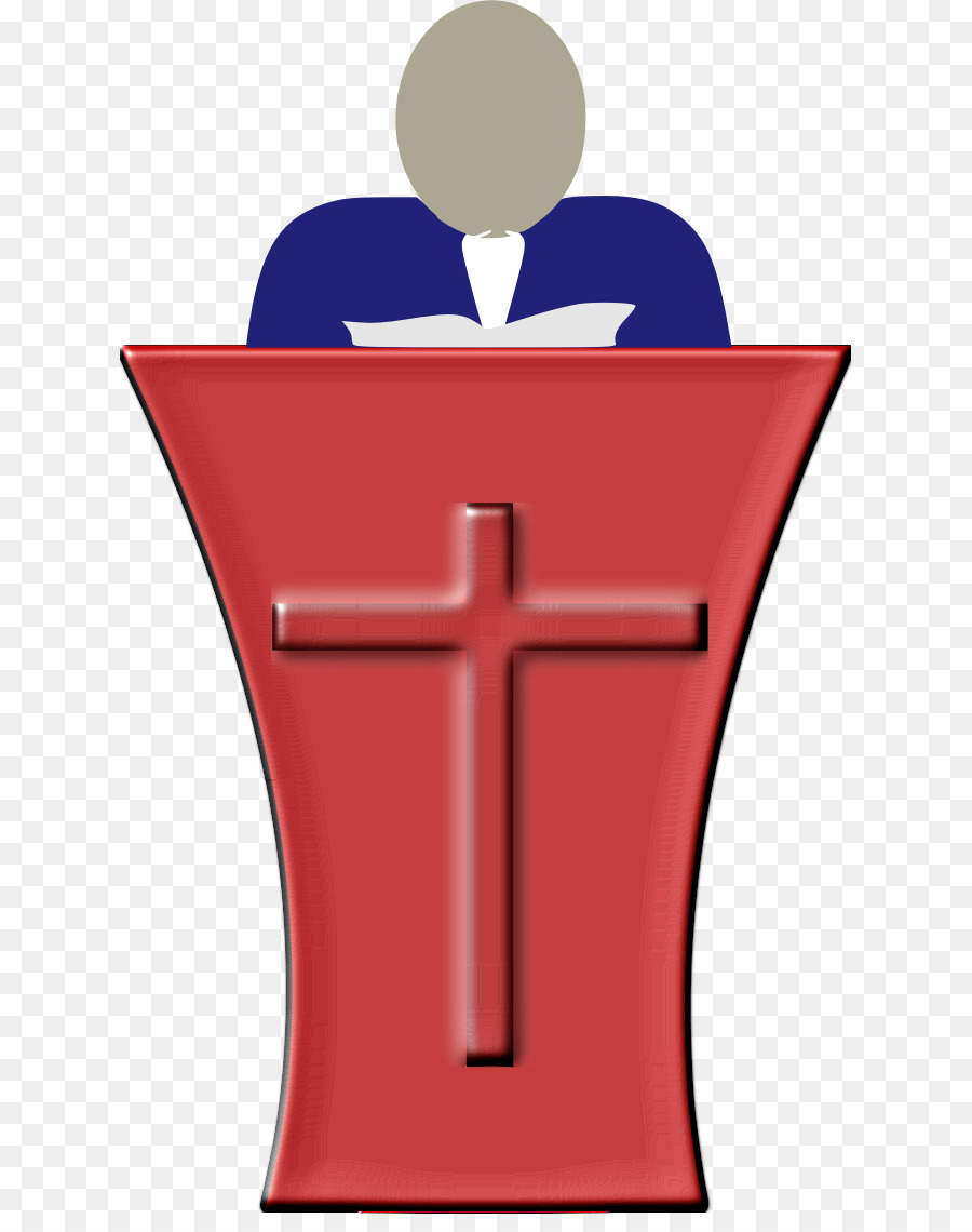 A country preacher clipart