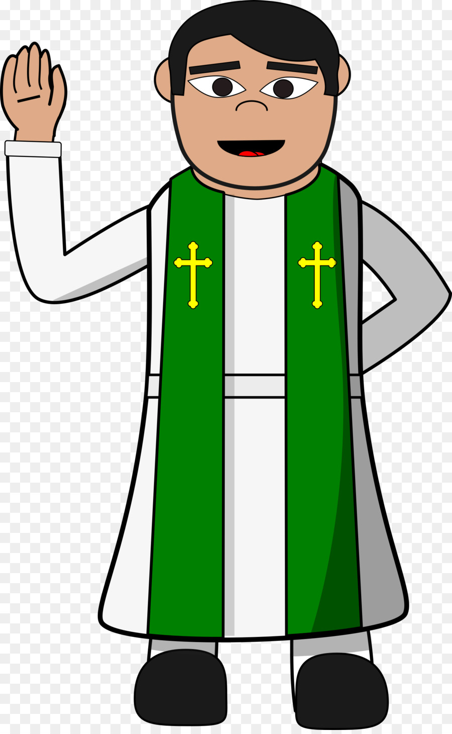 A country preacher clipart image black and white Pastor Standing png download - 1488*2400 - Free Transparent Pastor ... image black and white