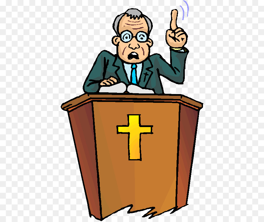 A country preacher clipart image free stock Church Cartoon png download - 486*757 - Free Transparent Pastor png ... image free stock