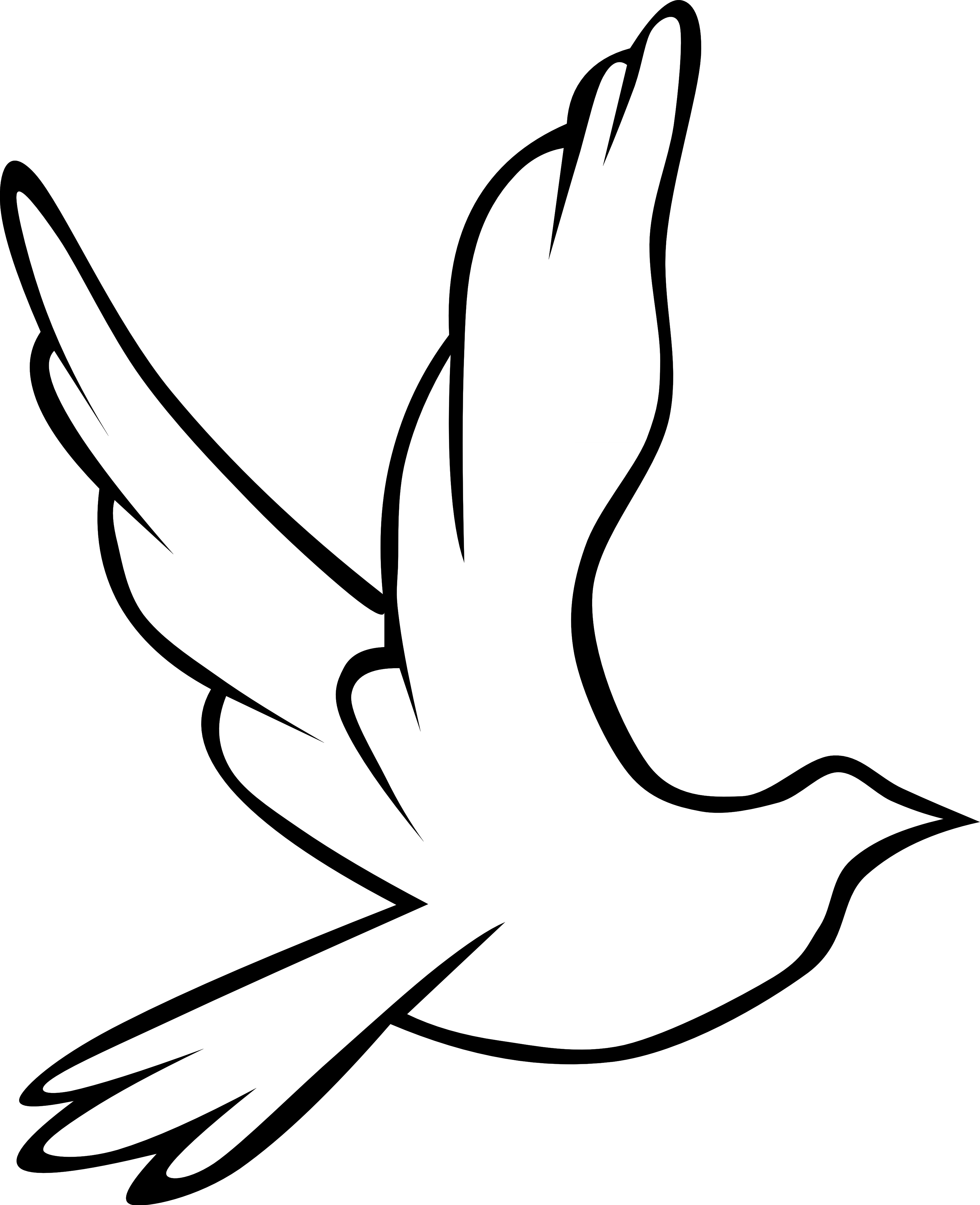 Doves and cross clipart vector library Dove And Cross Clipart | Clipart Panda - Free Clipart Images vector library