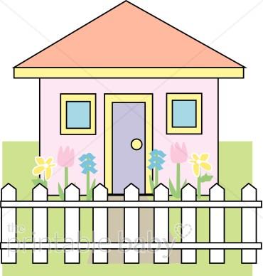 A cute house clipart clip art royalty free stock Cute House Clipart | Mommy & Daddy Clipart clip art royalty free stock
