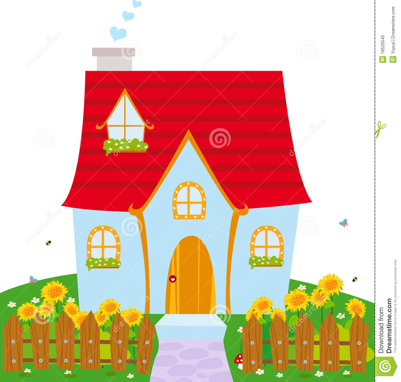 104+ Cute House Clipart | ClipartLook clip download