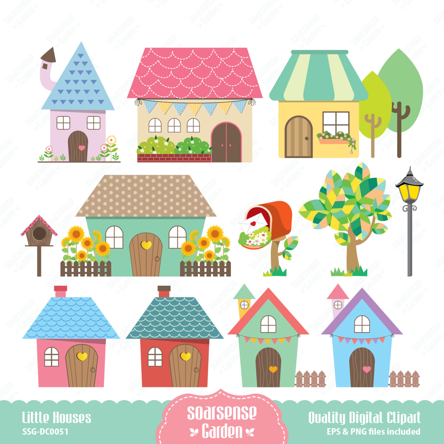 Cute House Clipart & Look At Clip Art Images - ClipartLook graphic free download