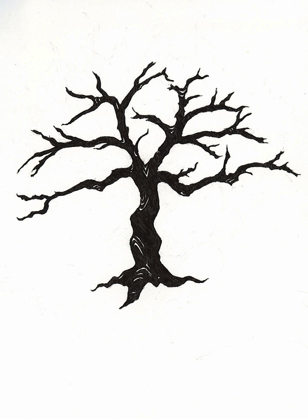 Winter tree canopy clipart picture freeuse stock dead tree clipart - ClipartFest | Paper Cutting Flora | Dead tree ... picture freeuse stock