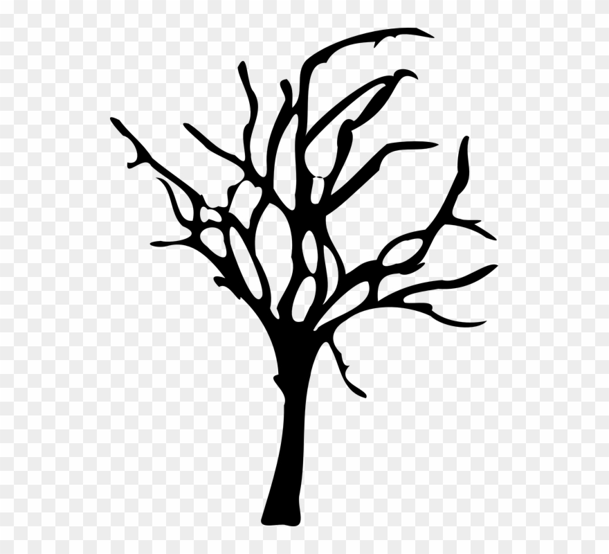A dead tree clipart picture transparent Barren Clipart Dead Forest - Dead Tree Vector Png Transparent Png ... picture transparent