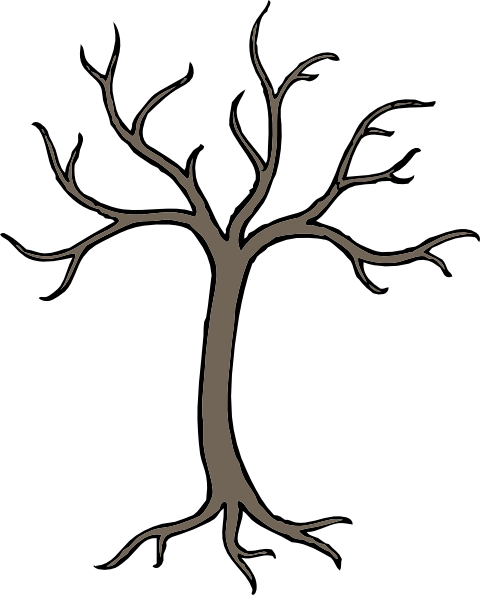 A dead tree clipart clipart royalty free stock Bare Dead Tree Clip Art at Clker.com - vector clip art online ... clipart royalty free stock