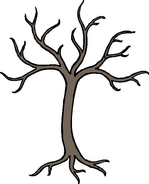 A dead tree clipart clipart royalty free stock Bare Dead Tree Clip Art at Clker.com - vector clip art online ... clipart royalty free stock