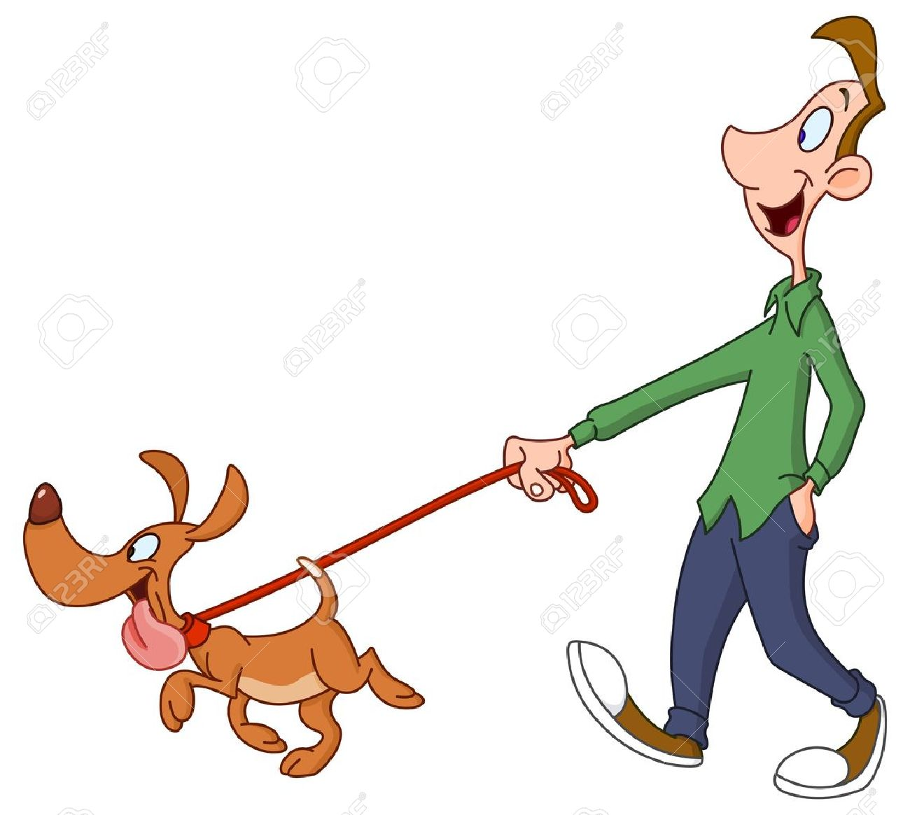 A dog sitting at man feet clipart image freeuse download Dog Walking Clipart | Free download best Dog Walking Clipart on ... image freeuse download