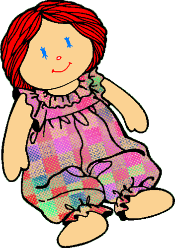 Doll cliparts download clip. Free clipart of dolls