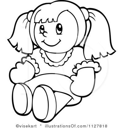 A doll clipart picture doll clip art | Royalty-Free (RF) Doll Clipart Illustration by ... picture