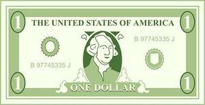 A dollar bill clipart image Free 1 Dollar Bill Cliparts, Download Free Clip Art, Free Clip Art ... image