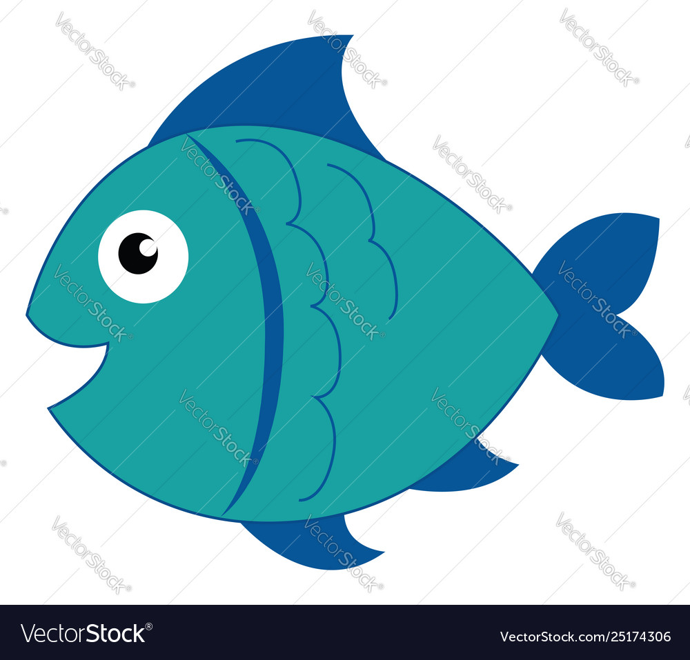 A drawing of a fish in a roll clipart clipart transparent download Clipart a blue-colored smiling fish or color clipart transparent download