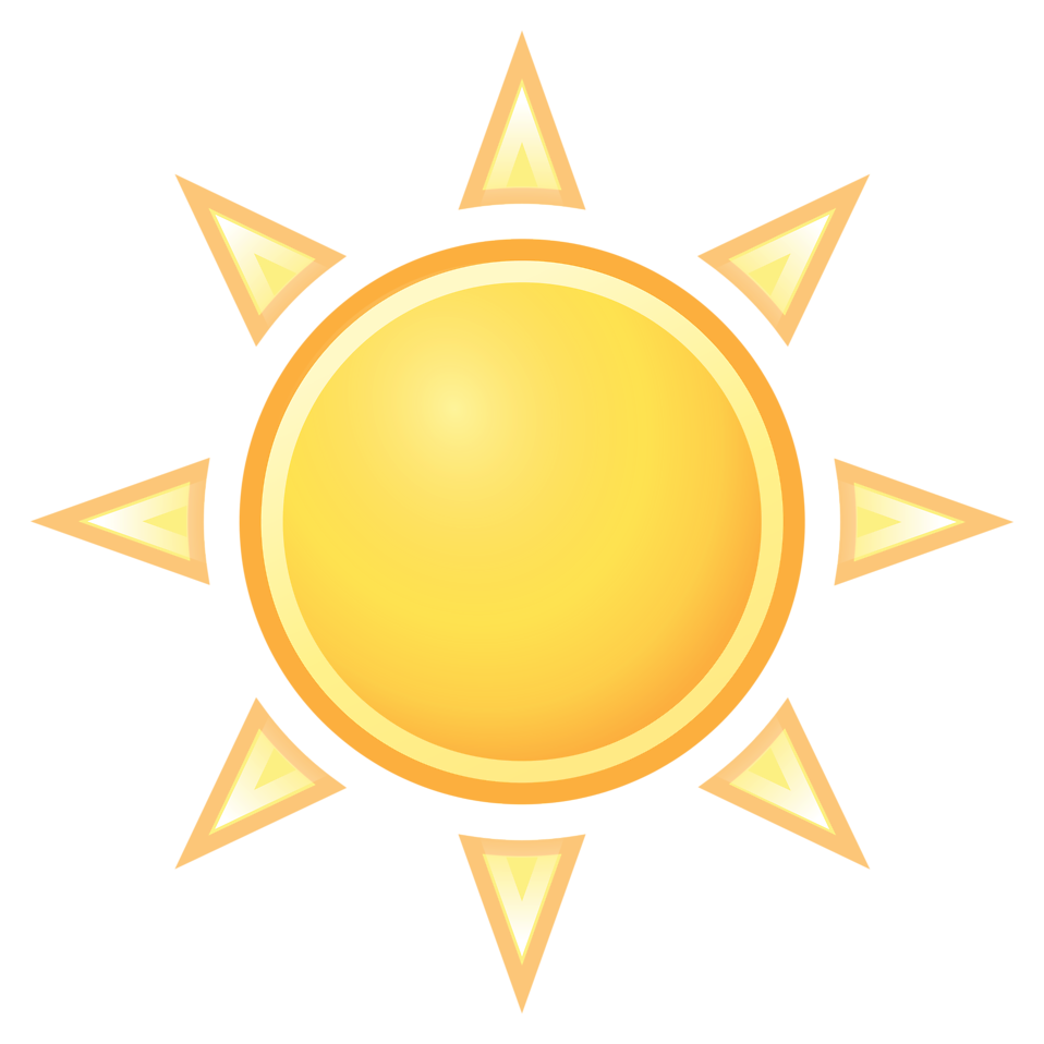 A drawing of a sun setting clipart clip free download Weather | Free Stock Photo | Illustration of the sun | # 15147 clip free download
