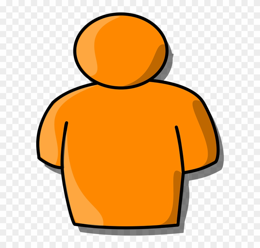 A elated person clipart vector transparent library People Clipart Orange - Clipart Person, HD Png Download - 606x720 ... vector transparent library