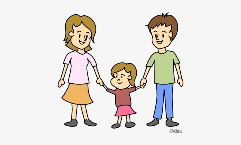 A family cartoon clipart image royalty free library Aunt Clipart Family - Cartoon Family Of 3 Transparent PNG - 480x480 ... image royalty free library