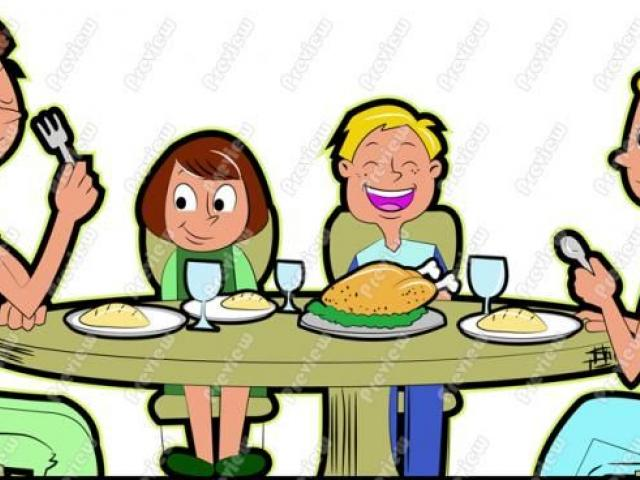 A family eating food clipart png freeuse stock Free Meal Clipart, Download Free Clip Art on Owips.com png freeuse stock
