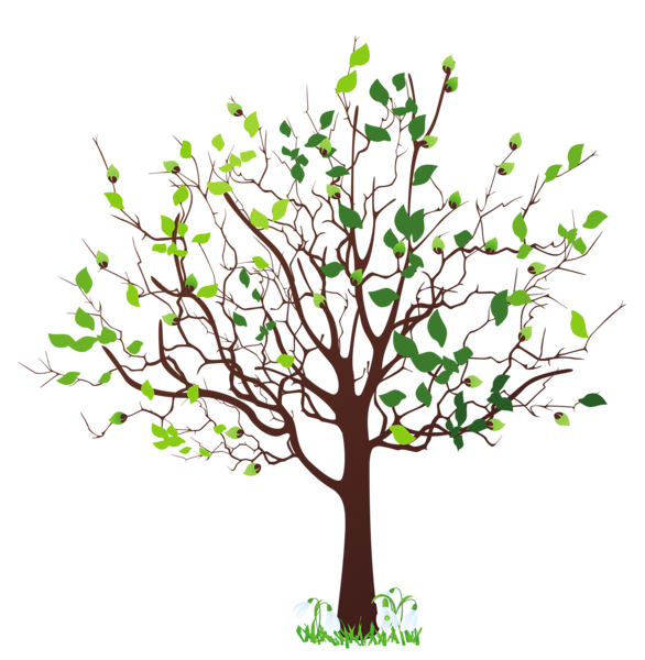 Clipart family tree picture royalty free library Spring Tree with Snowdrops PNG Clipart Picture | Trees | Pinterest ... picture royalty free library