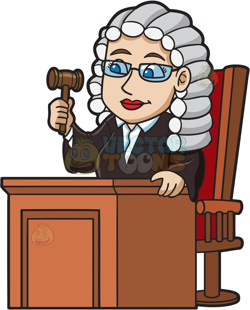 Judge pictures clipart banner freeuse stock Female Judge Clipart banner freeuse stock
