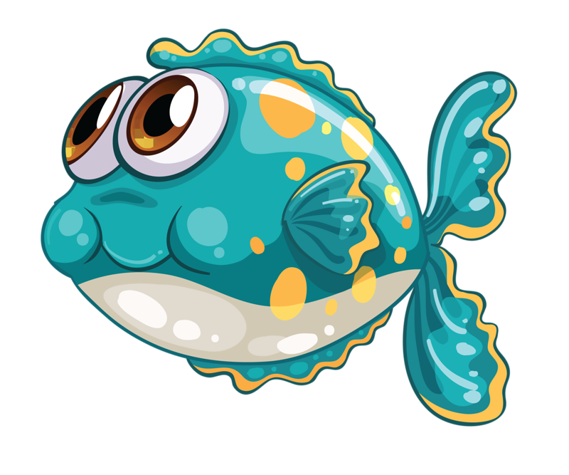 Fish on a plate clipart.  png ocean clip