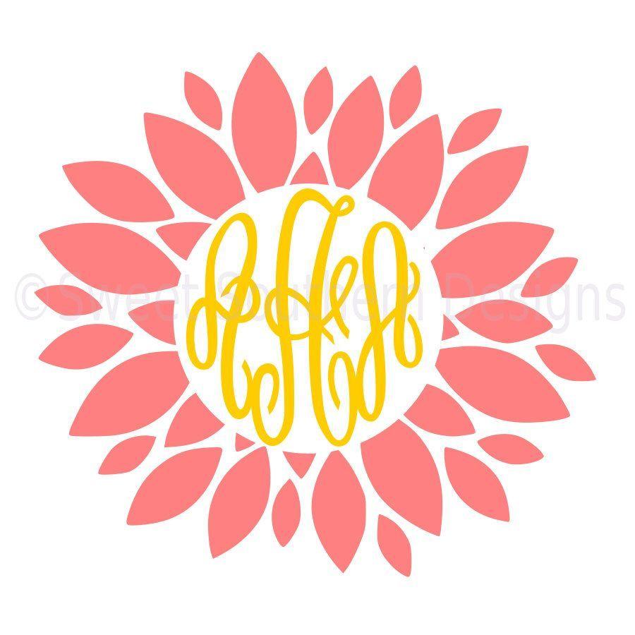 A floral monogram clipart clipart transparent download Flower monogram clipart 6 » Clipart Portal clipart transparent download