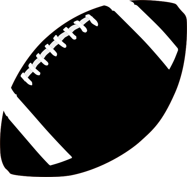 Free football game black and white clipart svg free library Football Silhouette Images at GetDrawings.com | Free for personal ... svg free library